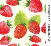 colorful watercolor vector... | Shutterstock .eps vector #196655006