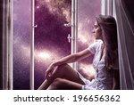 window to space | Shutterstock . vector #196656362