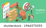 3d isometric flat vector... | Shutterstock .eps vector #1966575355