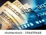 credit card. selective focus. | Shutterstock . vector #196659668