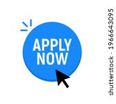 apply now job submit button...   Shutterstock .eps vector #1966643095