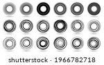 circle lines isolated on the... | Shutterstock .eps vector #1966782718