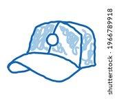 baseball cap hat sketch icon...   Shutterstock .eps vector #1966789918