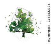 tree  low polygonal vector...   Shutterstock .eps vector #1966833175