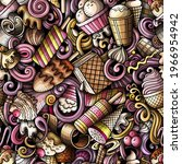 Cartoon Doodles Ice Cream...