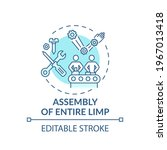 entire limb assembly concept...   Shutterstock .eps vector #1967013418