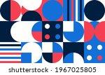 simple geometric vector pattern.... | Shutterstock .eps vector #1967025805