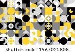 simple geometric vector pattern.... | Shutterstock .eps vector #1967025808