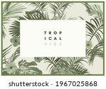 vintage monochrome pale plive... | Shutterstock .eps vector #1967025868