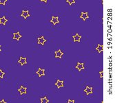 violet seamless geometric star...   Shutterstock .eps vector #1967047288