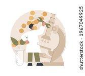 genetic engineering abstract... | Shutterstock .eps vector #1967049925