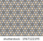 vector geometric pattern with... | Shutterstock .eps vector #1967122195