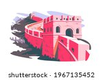 great wall of china vector... | Shutterstock .eps vector #1967135452