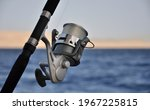 Close Shot Of A Hook With Sea...