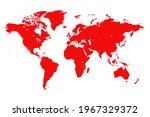 red world map illustration...   Shutterstock .eps vector #1967329372