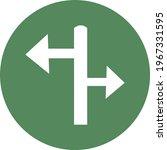 road guide  icon illustration ...   Shutterstock .eps vector #1967331595