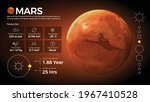 the solar system mars and its...   Shutterstock .eps vector #1967410528