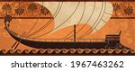 ancient ship.trireme.ancient...   Shutterstock .eps vector #1967463262