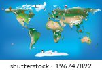 vector ilustration available as ... | Shutterstock .eps vector #196747892