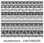 floral embellishments and... | Shutterstock .eps vector #1967490205