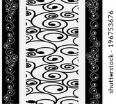 seamless pattern vector | Shutterstock .eps vector #196753676