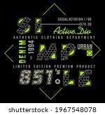 simple 851 s active div denim...   Shutterstock .eps vector #1967548078