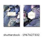 trendy wedding invitation ...   Shutterstock .eps vector #1967627332