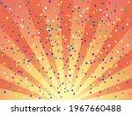 sunburst and confetti...   Shutterstock .eps vector #1967660488