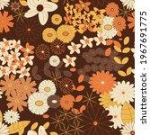 yellow  orange and brown... | Shutterstock .eps vector #1967691775