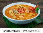 Red Curry Pickled Bamboo Shoot...
