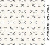 seamless pattern  stylish... | Shutterstock .eps vector #196769816