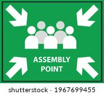 emergency meeting area vector...   Shutterstock .eps vector #1967699455