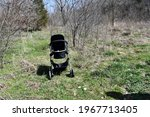 A Stroller Left Behind In A...