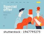 discounts  sale  promotion  web ... | Shutterstock .eps vector #1967795275