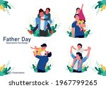 father's day  father and... | Shutterstock .eps vector #1967799265