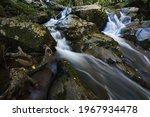 Cool White Mountain Water...