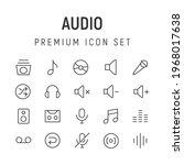 premium pack of audio line...