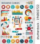 education infographics. vector.  | Shutterstock .eps vector #196803722