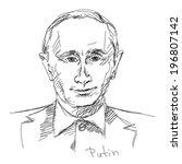 may 02  2014  russian president ... | Shutterstock .eps vector #196807142