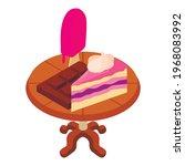colorful dessert icon.... | Shutterstock .eps vector #1968083992