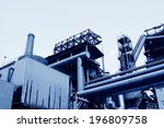 mechanical equipment and iron... | Shutterstock . vector #196809758