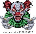sary clown   halloween art... | Shutterstock .eps vector #1968113728