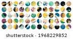 grunge design set. abstract... | Shutterstock .eps vector #1968229852