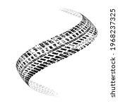 vector print textured tire...   Shutterstock .eps vector #1968237325
