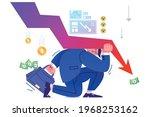 financial crisis  business... | Shutterstock .eps vector #1968253162