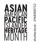 asian american pacific islander ... | Shutterstock .eps vector #1968300712