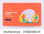 dollar and euro competition.... | Shutterstock .eps vector #1968338215