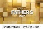 happy fathers day. vector...   Shutterstock .eps vector #1968453205