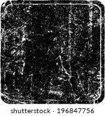grunge rubber stamp  | Shutterstock .eps vector #196847756