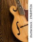 Traditional Mandolin On Wood...
